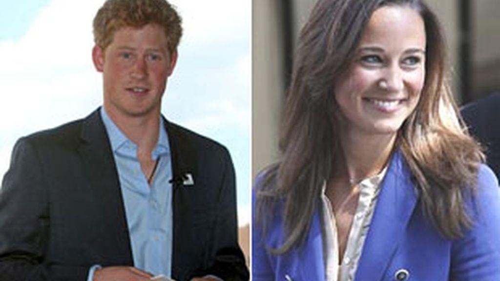 El principe Enrique y Pippa Middleton