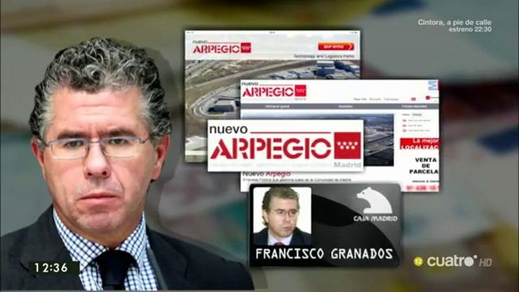 Granados gastó 10.000 euros en siete meses con una tarjeta 'black' de la funcación Arpegio
