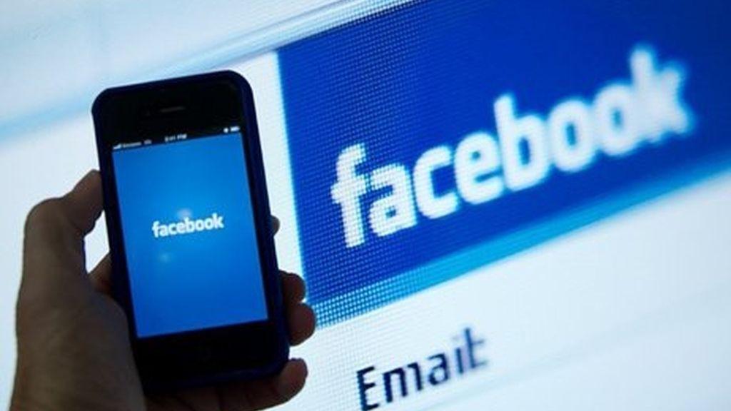 facebook, logo, página inicio