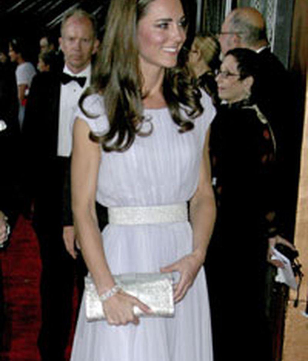 Kate Middleton durante la gala de los premios Bafta. Foto: GTRES