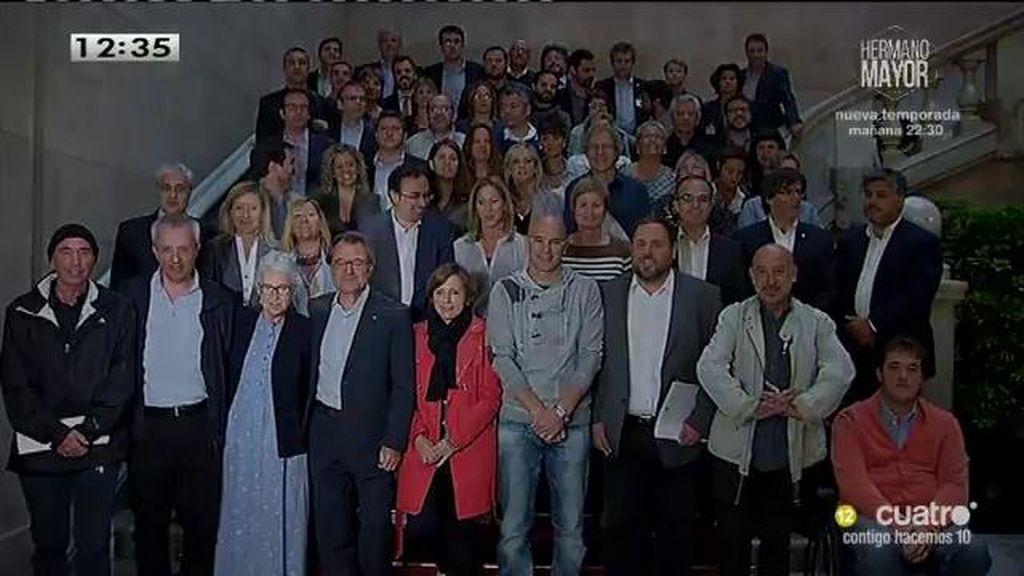 El Constitucional señala a 21 personas como responsables del desafío catalán