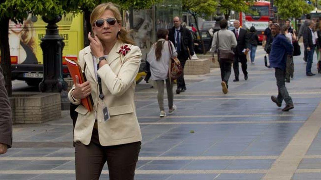 Primeras imágenes de la Infanta Cristina tras conocer la anulación de su imputación