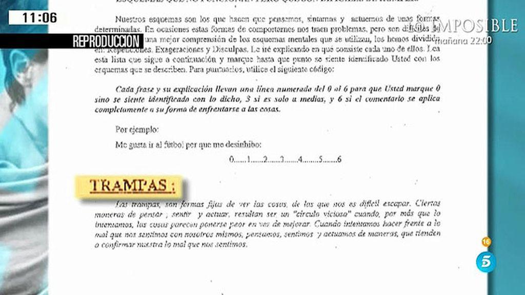 'AR' tiene acceso al test psiquiatrico que le realizaron a Rosario Porto en prisión