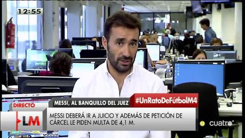 Hacienda pide casi dos años de cárcel para Messi por fraude fiscal