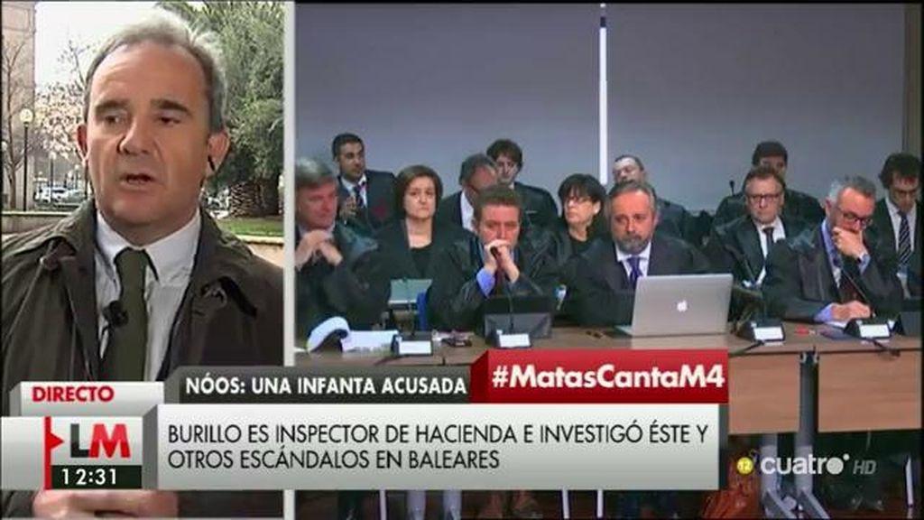 """Burillo: """"No existen órganos independientes que trabajen con criterios de riesgo y detecten dónde puede existir la corrupción"""""""