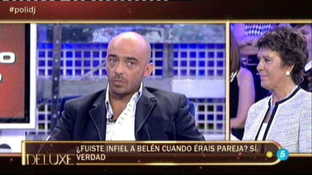 Dani Dj lo reconoce: Fue infiel a Belén Esteban