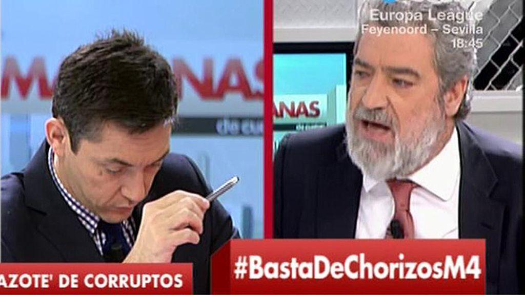 """M.A. Rodríguez: """"Hay que luchar más contra la corrupción pero no se puede decir que no se ha hecho nada"""""""