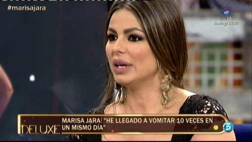 """Marisa Jara: """"He llegado a vomitar hasta 10 veces en un solo día"""""""
