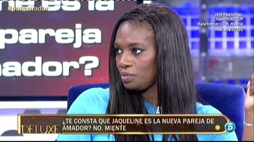 Según el polideluxe, Jaqueline es la nueva pareja de Amador