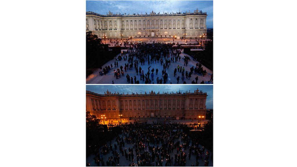 La 'Hora del Planeta' en Madrid
