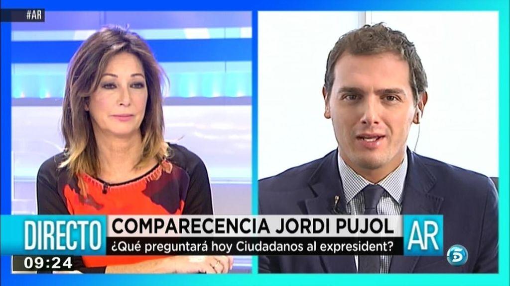 """A. Rivera: """"Artur Mas está temblando porque si el capo habla, pueden caer todos"""""""