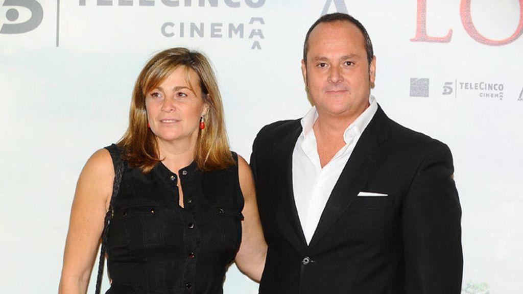 Marta Valverde y Nacho Montes acudieron juntos a la première