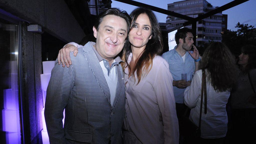 Mariano Peña y Melani Olivares