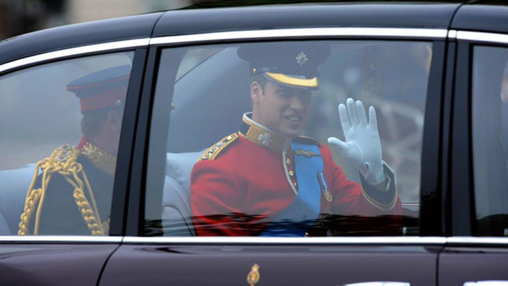 Un día feliz para el príncipe William, duque de Cambridge