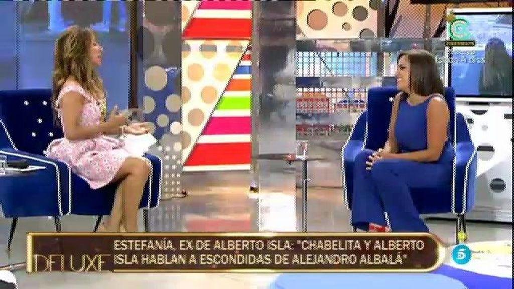 """Estefanía: """"Isa me dijo que le tenía cariño a Alejando pero que su amor era Alberto"""""""