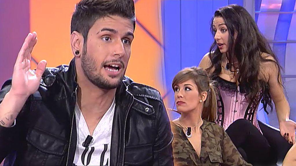 """Iván: """"Paula es demasiado masculina para ponerse un corsé"""""""