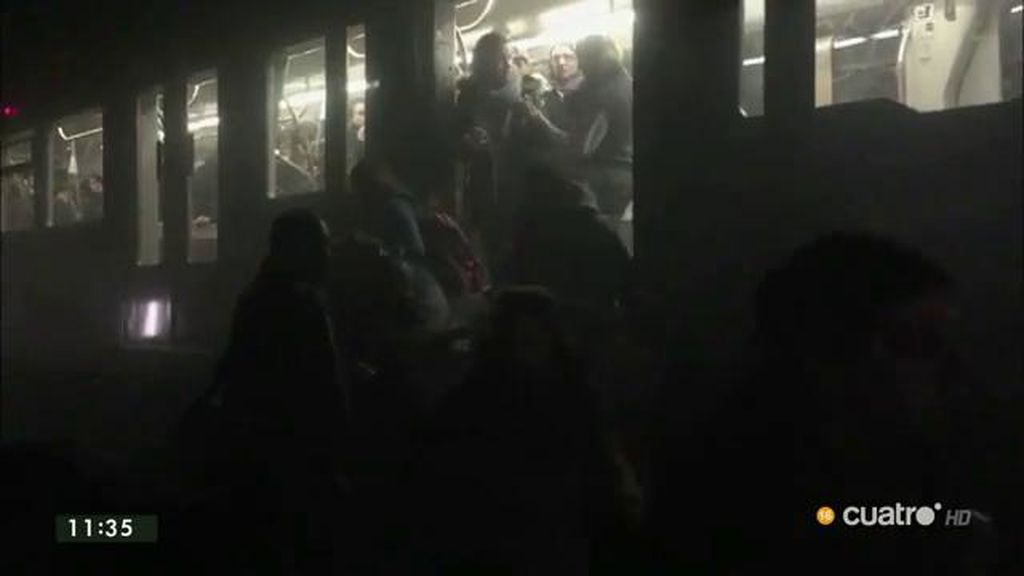 Las primeras imágenes del metro y el aeropuerto tras los atentados en Bruselas