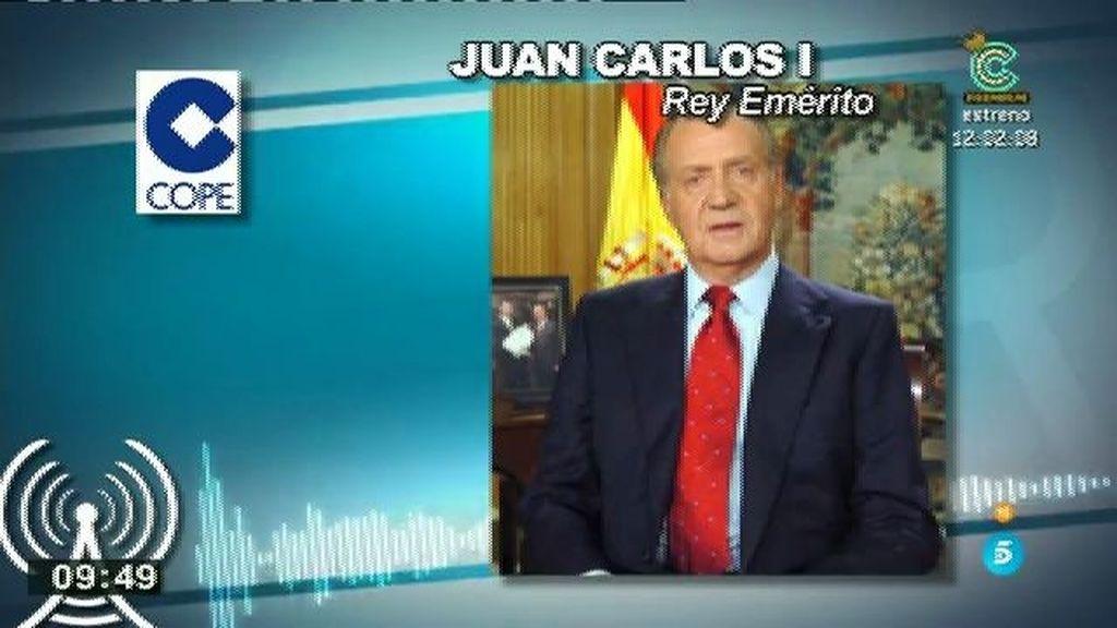 """Don Juan Carlos: """"Tenemos un gran Rey. Me siento orgulloso y emocionado"""""""