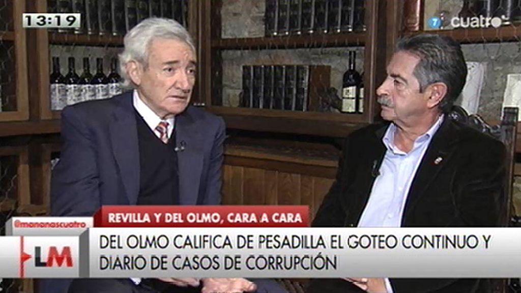 """Luis del Olmo, a Miguel Ángel Revilla: """"Apúntate a Podemos, al PP o al PSOE. A lo mejor Rajoy te dice, 'arréglalo"""""""