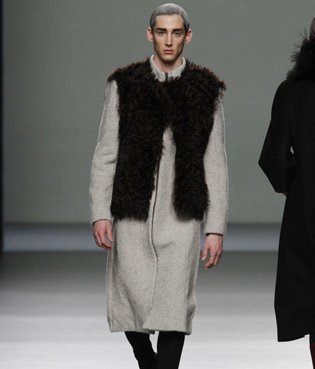 Grandes solapas, lanas, acento en patronajes y tallajes