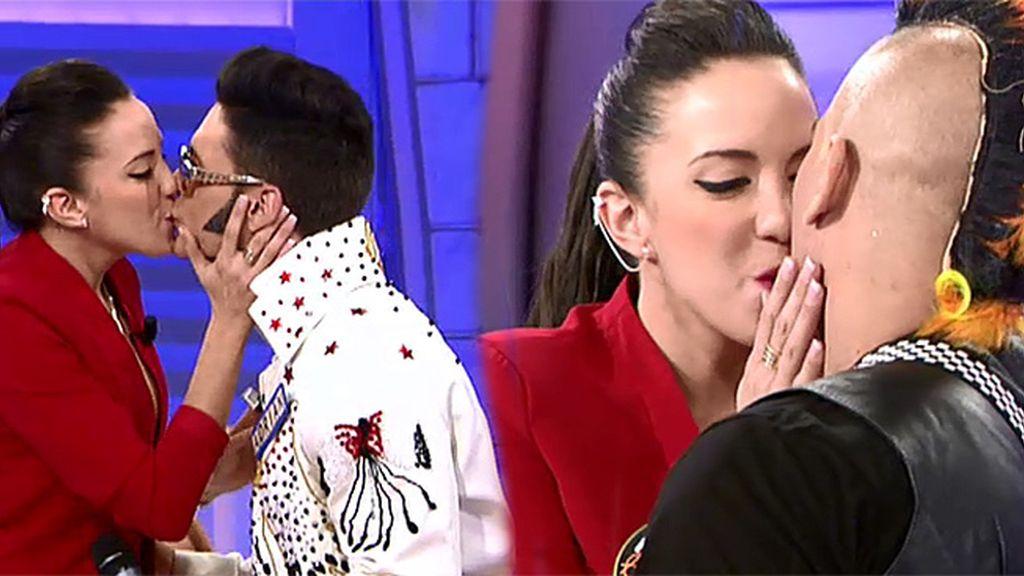 ¡Que se besen, que se besen!