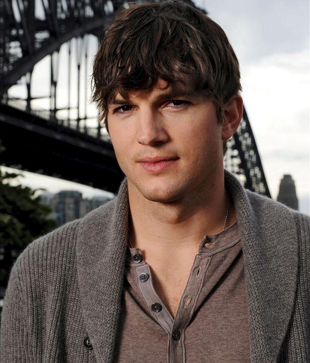 El actor estadounidense Ashton Kutcher. EFE/Archivo