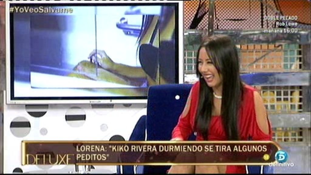 """Lorena, supuesta amante de Kiko Rivera: """"Se tira peditos mientras duerme"""""""