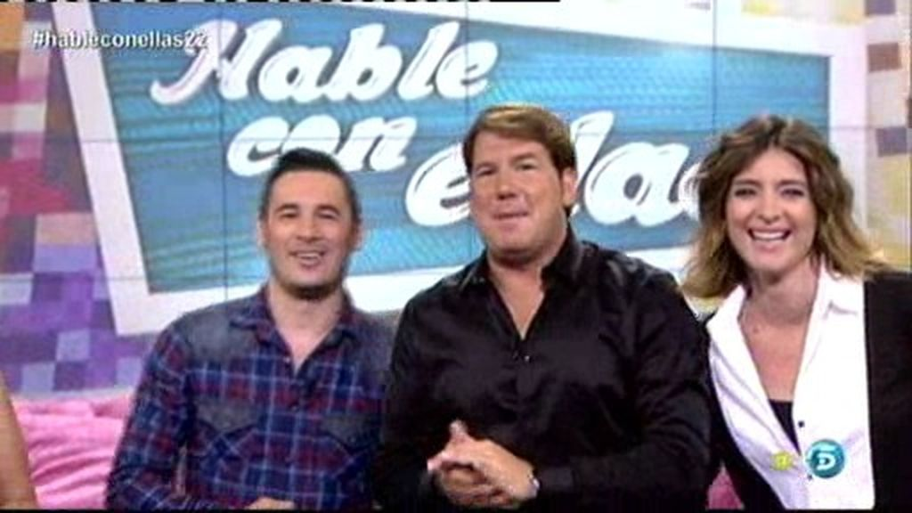 Andy y Lucas, maestros de ceremonias de 'Hable con ellas en Telecinco'
