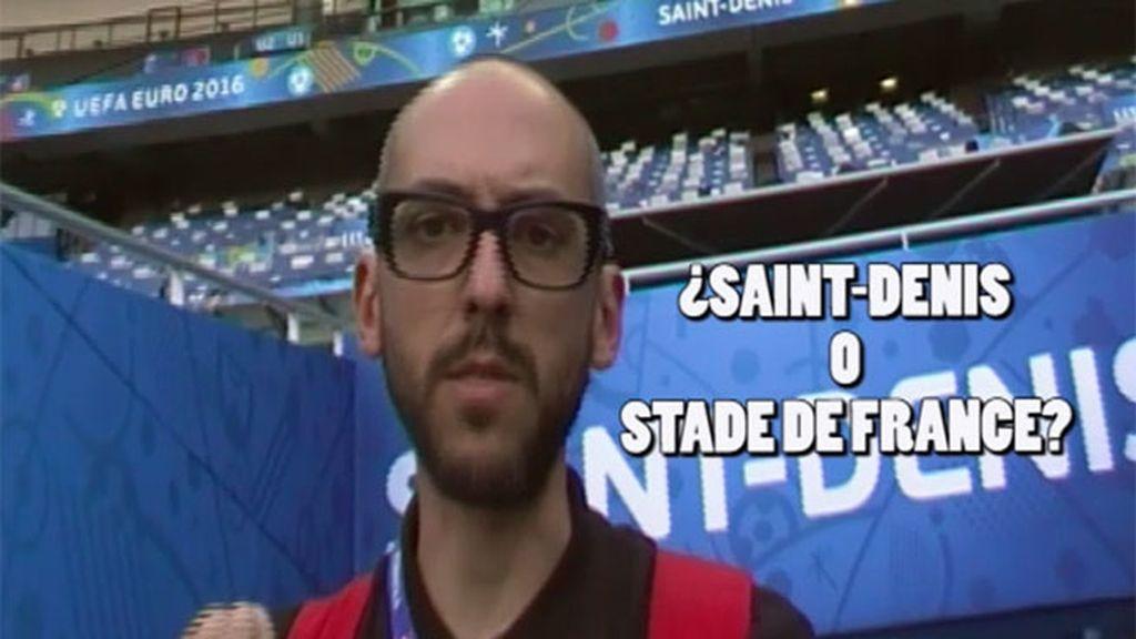 ¿España se la juega ante Italia en Saint-Denis o en el 'Stade de France'? Si quieres ganar una apuesta...