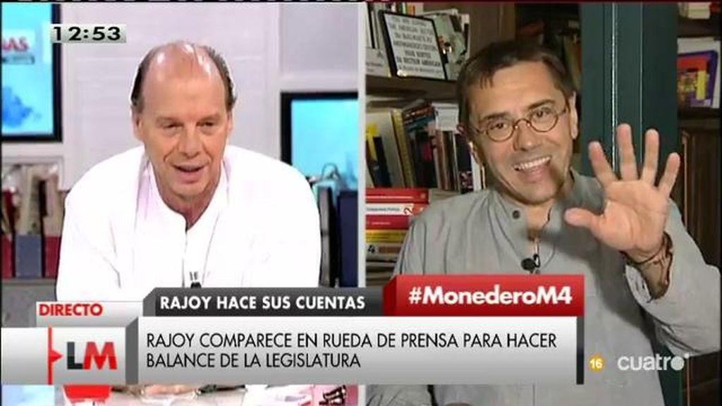 El debate de Juan Carlos Monedero y Jaime González por la portada de ABC