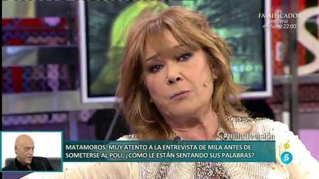 """Mila Ximénez: """"Me siento estafada emocionalmente por Kiko Matamoros"""
