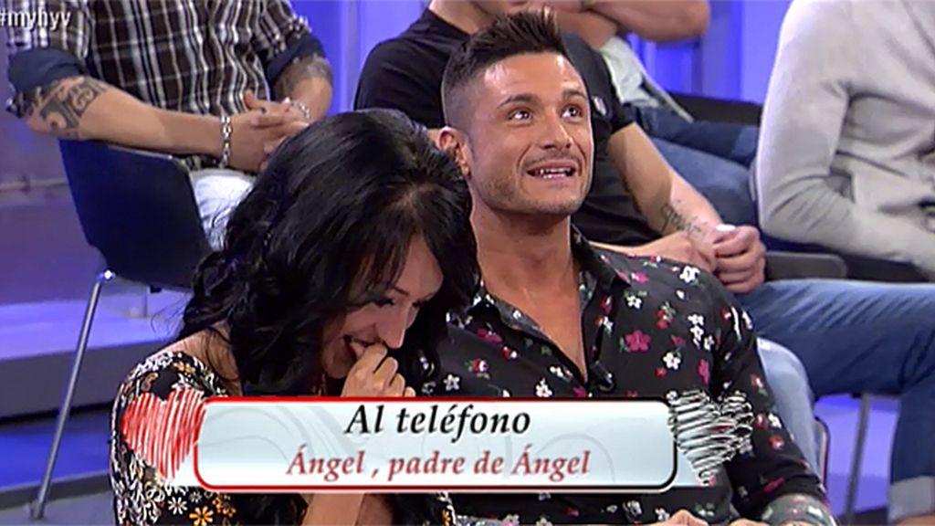 """Ángel, padre de Ángel: """"Me parece muy bonito porque Aura es una chica estupenda"""""""