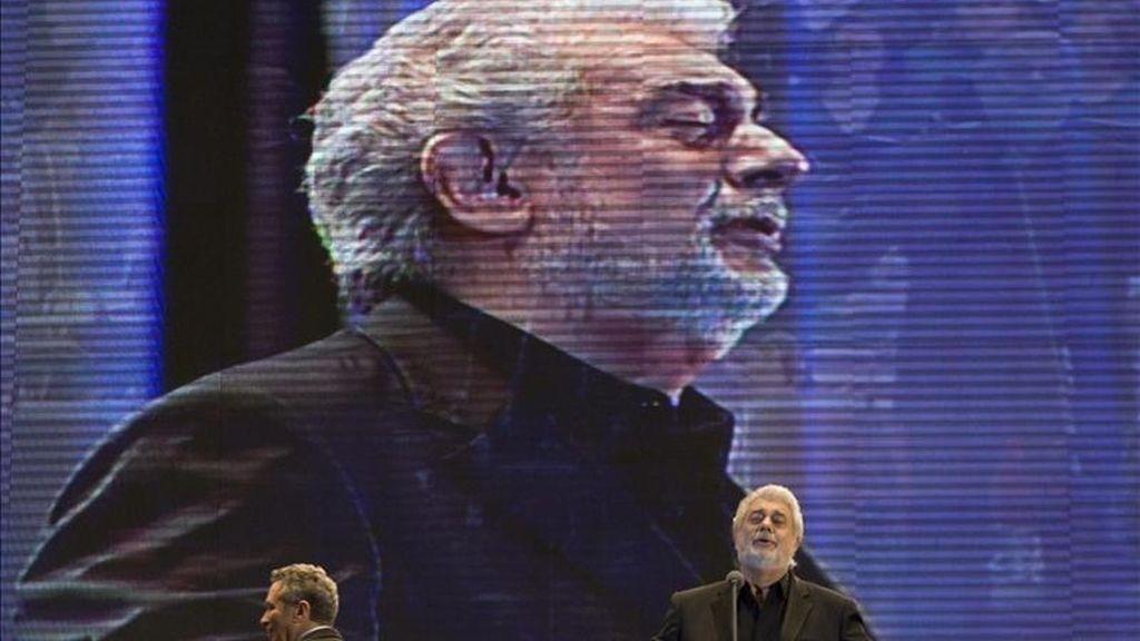 En la imagen, el tenor español Plácido Domingo. EFE/Archivo