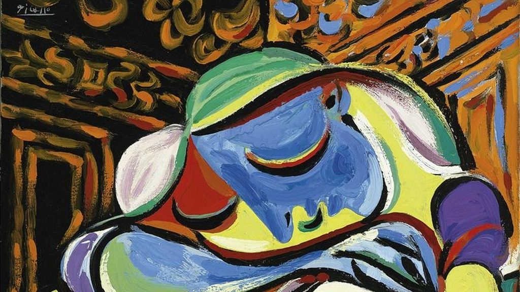 """Imagen facilitada por la casa de subastas Christie´s de Londres del cuadro de Pablo Picasso """"Jeune fille endormie"""", pintado en Francia en 1935, y que se subastará en junio en la casa Christie´s de Londres, tras ser donado por un filántropo anónimo a la Universidad de Sidney (Australia) con la condición de que se venda para financiar investigaciones científicas. EFE"""