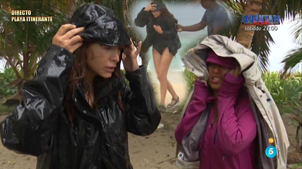 Yurena y Miriam llegan a duras penas a Cayo Paloma, su nuevo destino