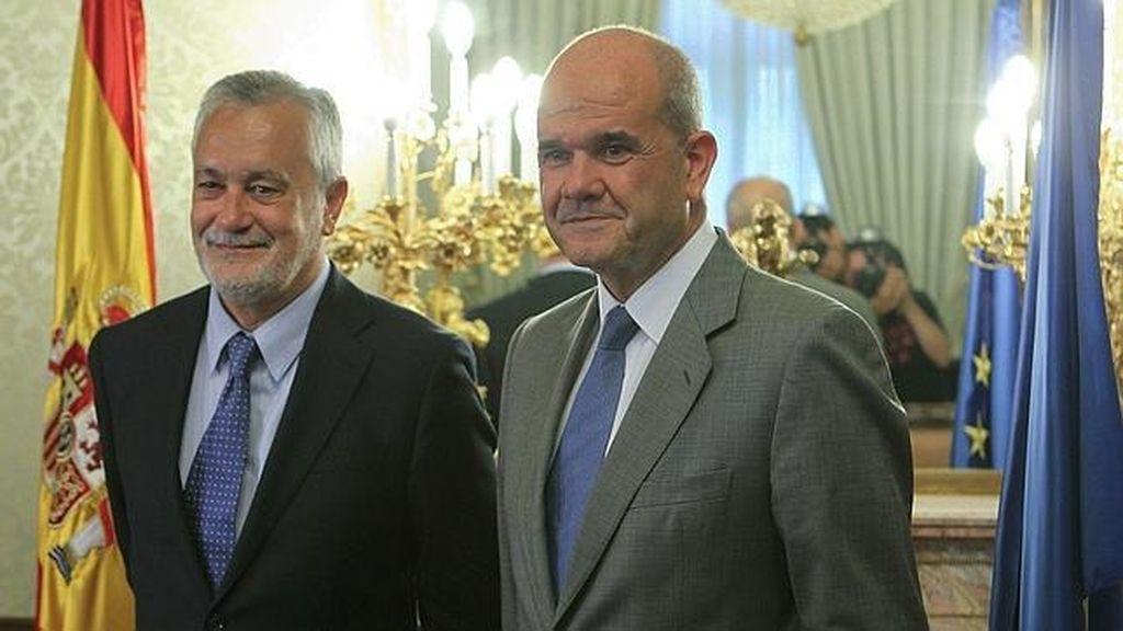 El Supremo abre una investigación contra Chaves y Griñán