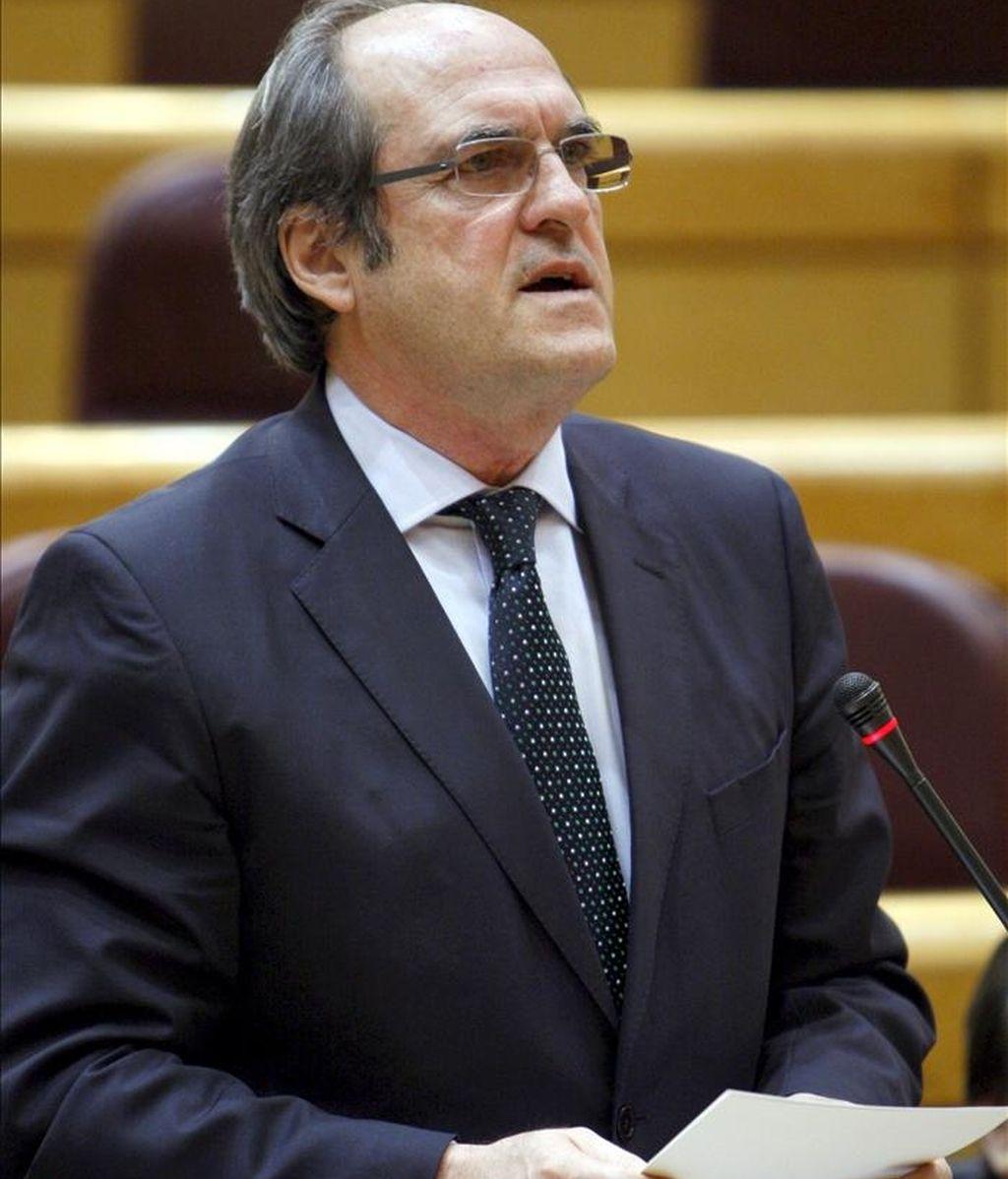 El ministro de Educación, Ángel Gabilondo. EFE/Archivo