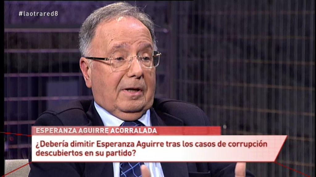 """Miguel Bernad: """"Aguirre sabía que los que la rodeaban no tenían las manos limpias"""""""