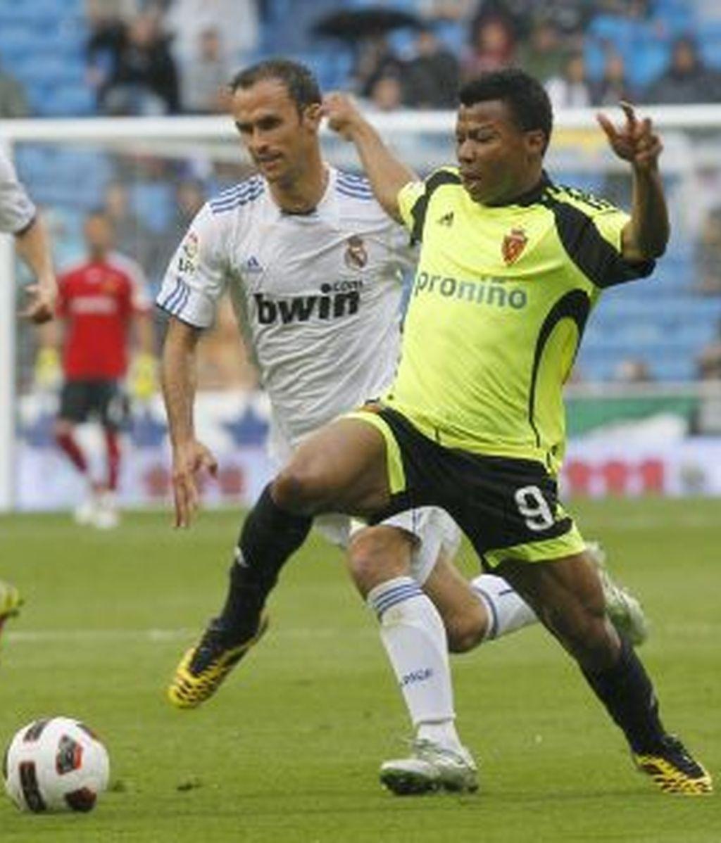 El Madrid no ha podido con el Zaragoza. Foto: EFE