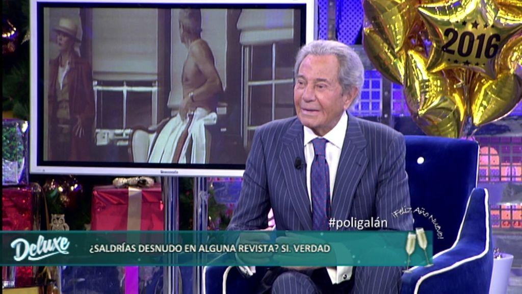 """Arturo Fernández, sobre su cuerpo en el Polideluxe: """"No tengo desperdicio"""""""