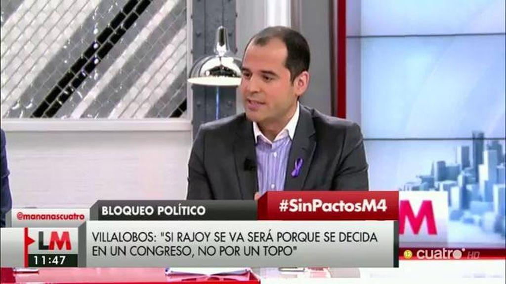 """Ignacio Aguado: """"A los que ambicionan la silla, se les ve el plumero"""""""