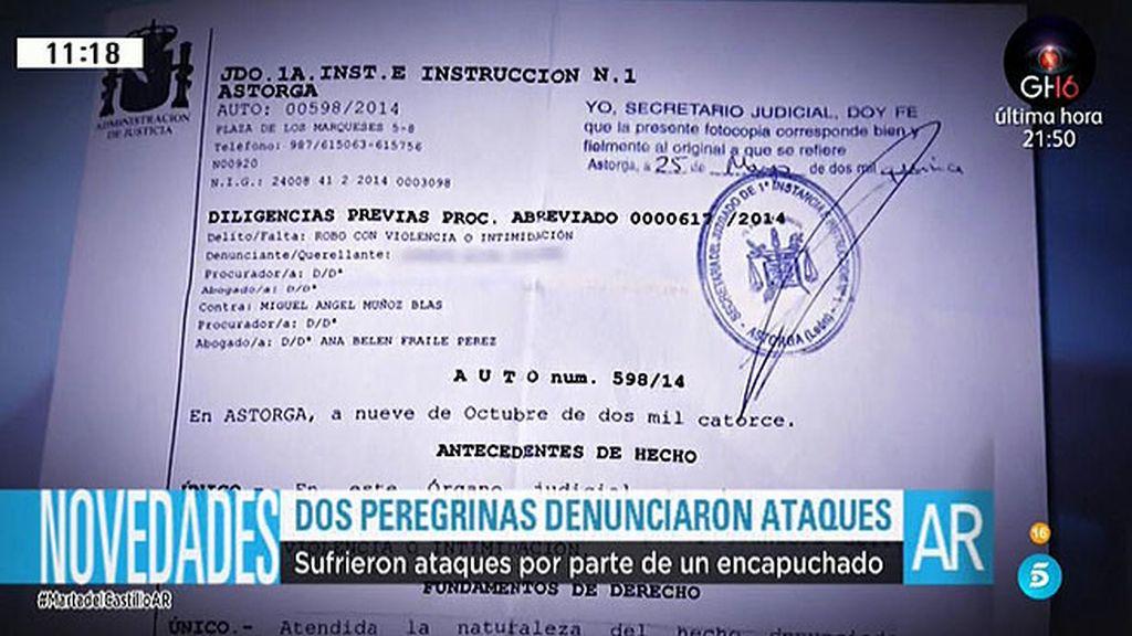 Las denuncias de dos peregrinas asaltadas en el Camino fueron archivadas