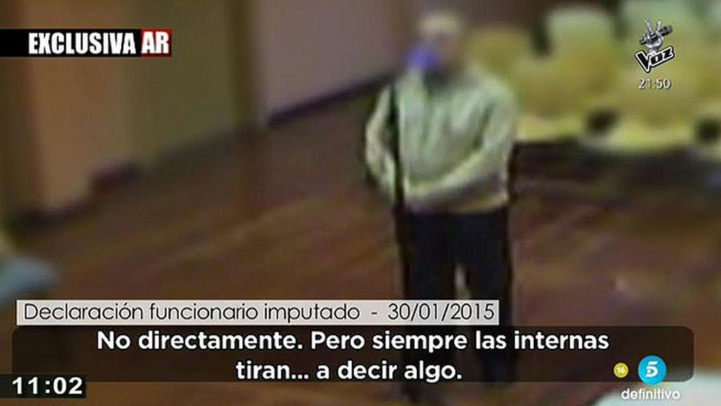 Un funcionario asegura que las internas hacían insinuaciones
