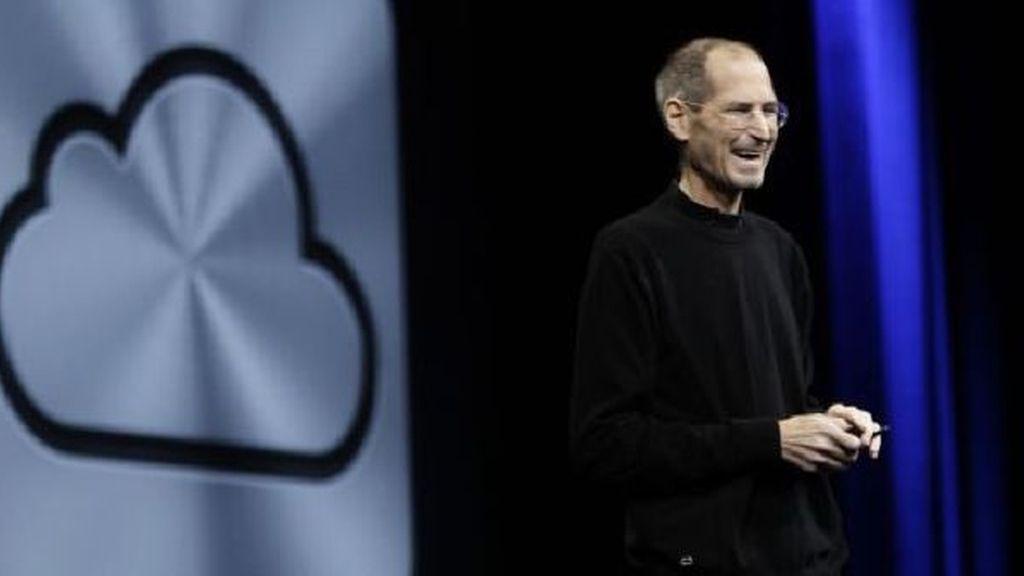Steve Jobs en la presentación de su más reciente servicio iCloud, el pasado 6 de junio. Foto AP