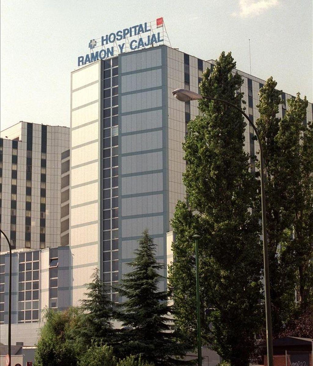 Edificio principal del Hospital Ramón y Cajal. EFE/Archivo