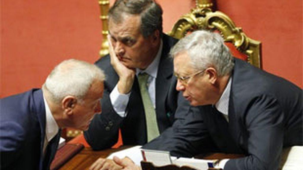 El paquete de reformas ha contado con el respaldo de 165 senadores. Foto: Reuters.