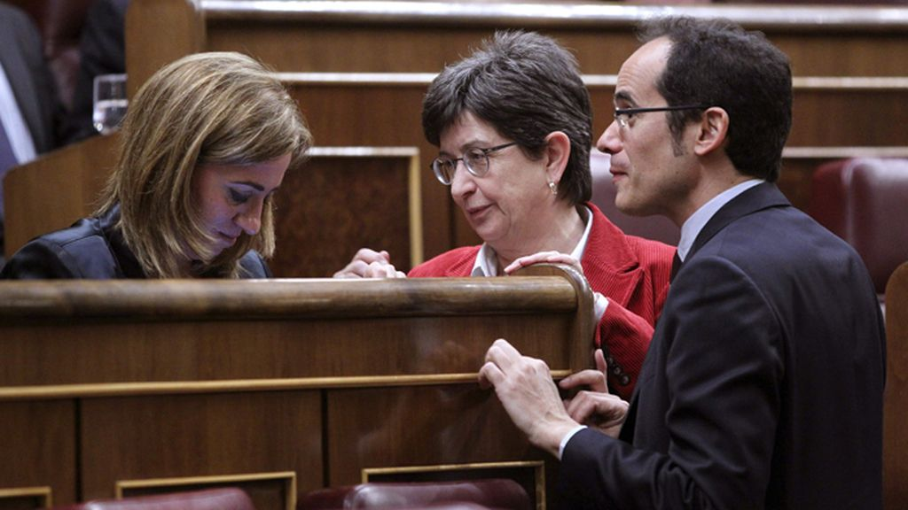 """Chacón no vota en la propuesta de resolución sobre el """"derecho a decidir"""""""