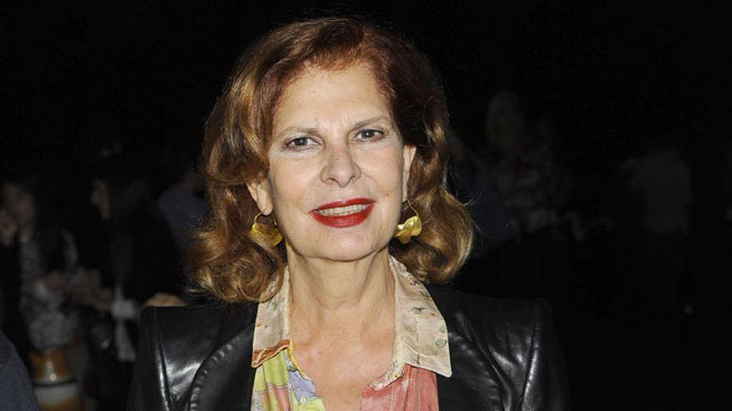 Carmen Alborch en el desfile de Francis Montesinos