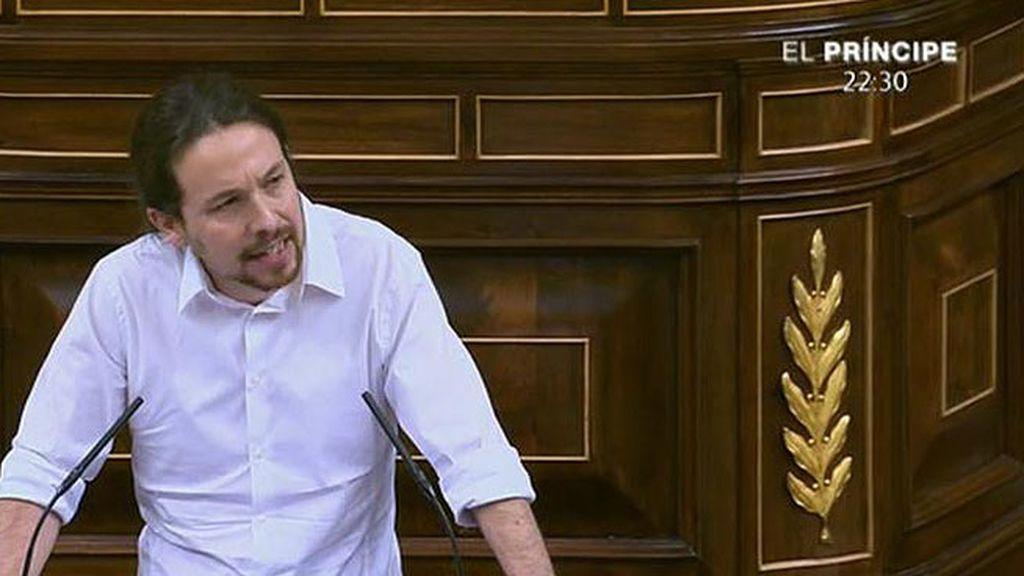 """Pablo Iglesias: """"Efectivamente nosotros somos el coco, señor Margallo"""""""