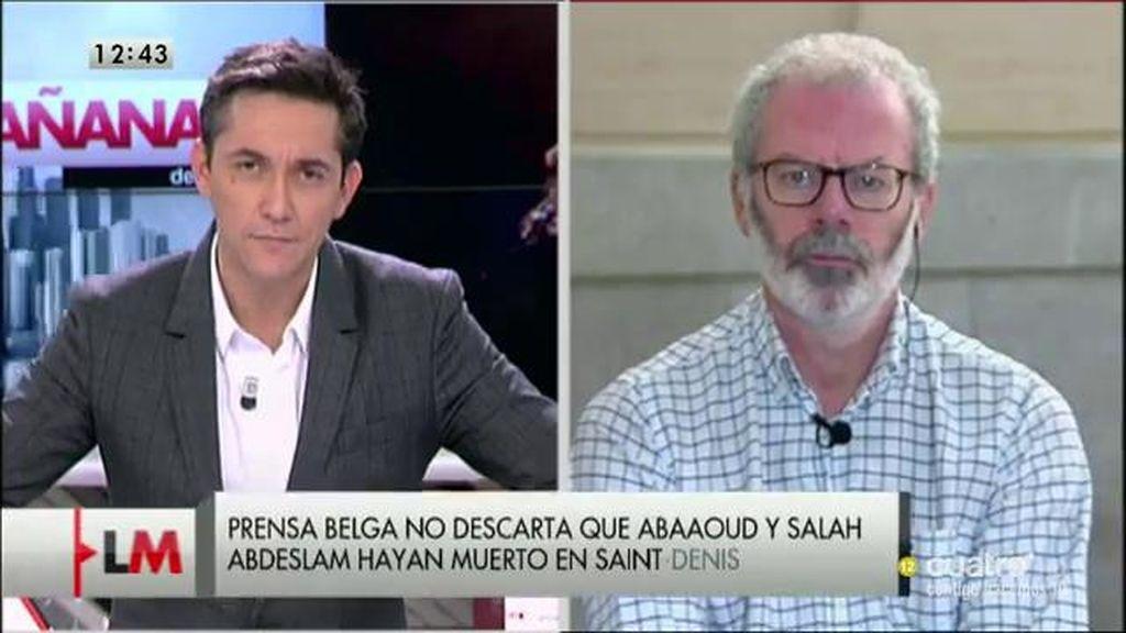 """J. Núñez Villaverde: """"Hay grupos terroristas que utilizan a mujeres o discapacitados para atravesar filtros de seguridad"""""""